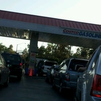 Photo taken at Costco Gas by Ria on 6/12/2012