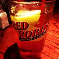 Photo taken at Red Robin Gourmet Burgers by Debbie H. on 6/2/2012