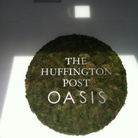 Photo taken at Huffington Post Oasis by Rachel S. on 8/28/2012