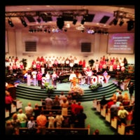 Photo taken at West Acres Baptist by Eric O. on 5/6/2012