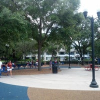 Photo taken at Lake Eola Playground by Orlando Informer on 7/4/2012