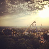 Photo taken at Six Flags Great Adventure by Tina H. on 6/19/2012