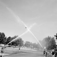 Photo taken at Paynesville Town & Country Days Fireman's Waterball Fight by Dave S. on 6/9/2012