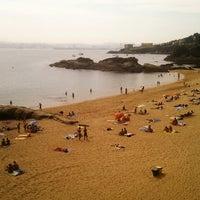 Photo taken at Praia de Espiñeiro by Jesus P. on 9/6/2012
