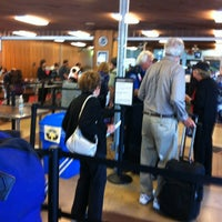 Photo taken at Airport Security by Grant Y. on 4/8/2012