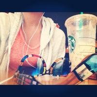 Photo taken at Starbucks by cupcake c. on 7/31/2012