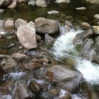 Photo taken at Lower Yosemite Falls by Emily T. on 2/12/2012