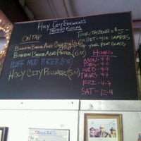 Photo taken at Holy City Brewing by Ryan J. on 6/20/2012