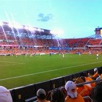 Photo taken at BBVA Compass Stadium by Hector M. on 7/16/2012