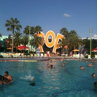 Photo taken at Disney's Pop Century Resort by Cathy W. on 7/29/2012