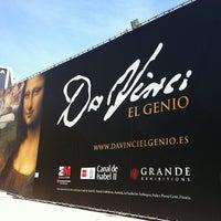 Photo taken at Exposición Da Vinci by Mari trini G. on 4/24/2012