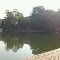Photo taken at Cooper Library Bridge by Joshua H. on 8/23/2012