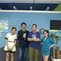 Photo taken at ChaiHuo 柴火 Hackerspace by Michael M. on 4/27/2012
