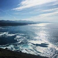 Photo taken at Faro de Cabo Vidio by Marta A. on 9/9/2016