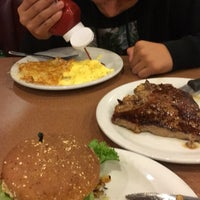 Photo taken at Denny's by Rachel G. on 11/5/2015