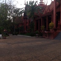 Photo taken at National Museum, Phnom Penh by Svitlana L. on 1/23/2015