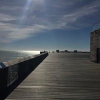 Photo taken at Hastings Pier by Nick G. on 10/3/2016