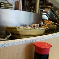 Photo taken at Floating Sushi Boat by Andy S. on 3/24/2016