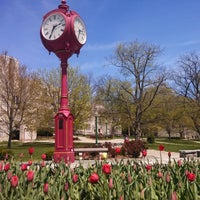 Photo taken at Indiana University Bloomington by Taylor O. on 4/21/2013