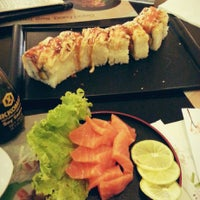 Photo taken at Sushi So by Arini Dwi Y. on 8/7/2014