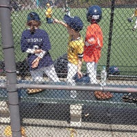 Photo taken at Van Vorhees Playground by Raul M. on 4/19/2014