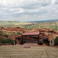 Photo taken at Red Rocks Park & Amphitheatre by Alex K. on 7/14/2013