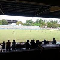 Photo taken at Stadion Klabat by Dav R. on 5/25/2013