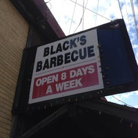Photo taken at Black's Barbecue by Brian N. on 6/15/2013