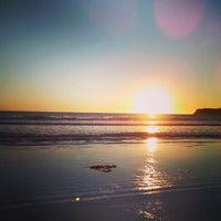 Photo taken at Coronado Beach by Tatiana G. on 1/13/2013
