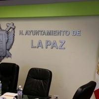 Photo taken at H. Ayuntamiento de La Paz by Karla T. on 6/23/2014