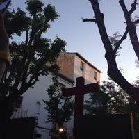 Photo taken at Plaza Larga by Manuel P. on 5/3/2014