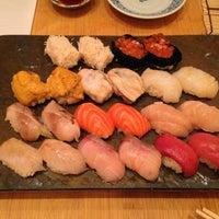 Photo taken at Sushi Yasuda by Mackenzie K. on 4/16/2013