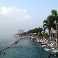 Photo taken at Rooftop Infinity Pool by Will K. on 6/27/2013