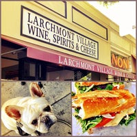 Photo taken at Larchmont Village Wine & Cheese by brandon on 5/24/2013
