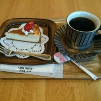 Photo taken at サザコーヒー 水戸駅店 by ひだまりん on 4/10/2016