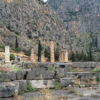 Photo taken at Temple of Apollo by LOUKAS D. on 5/21/2016