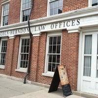 Photo taken at Lincoln-Herndon Law Office by Andy G. on 7/26/2013