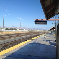 Photo taken at Santa Clara Caltrain Station by @JaumePrimero on 8/7/2013