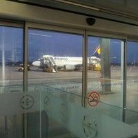 Photo taken at Blue Danube Airport Linz (LNZ) by Junghyuk A. on 10/22/2012