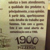 Photo taken at 1900 Pizzeria by Fernando C. on 3/9/2013