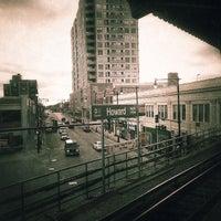 Photo taken at CTA - Howard by PATRICK B. on 4/14/2013
