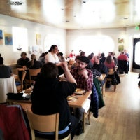 Photo taken at Finn's Cafe by AsianPotato on 1/27/2013