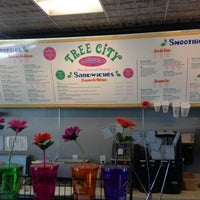 Photo taken at Tree City Juice & Smoothie Cafe by Brad F. on 10/2/2012