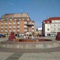 Photo taken at Náměstí ČSA by Linda B. on 7/23/2015