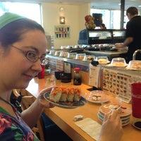 Photo taken at Marinepolis Sushi Land by Don T. on 4/2/2013