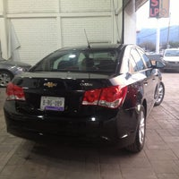 Photo taken at Distribuidor Autorizado Chevrolet (Rivero Motors, S.A. de C.V) by MarieLa A. on 7/5/2013