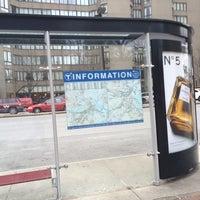 Photo taken at MBTA 39 Bus @ Prudential by Chris R. on 1/29/2014