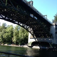 Photo taken at Montlake Bridge by Stan B. on 6/18/2013