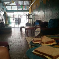 Photo taken at Hostel Tres Mundos by Alejandro M. on 10/26/2015