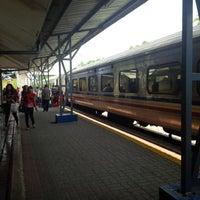 Photo taken at Stesen Keretapi Kluang by SkyLIM M. on 5/18/2013